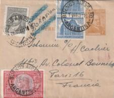 ARGENTINE - BANDE POUR JOURNAUX - 28/07 ET 01/08/1948 Pour La France - Interi Postali