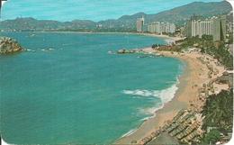 Acapulco, Gro. (Mexico) Panoramica De Playa Condesa Y La Bahia, View Of Condesa Beach And The Bay - Messico