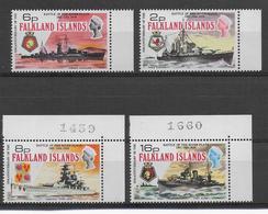 FALKLAND - BATEAUX - YVERT 231/234  ** MNH - COTE = 35 EUR. - Falkland