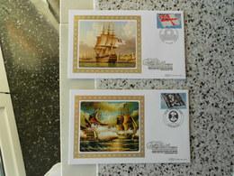 N.    2 FDC Benham Con Bandiere E Insegne Pirati-ediz.limitata 500 Pezzi - Zonder Classificatie