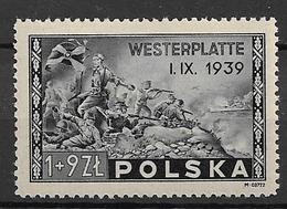 1945 MNH Poland, Postfris** - 1944-.... Republic