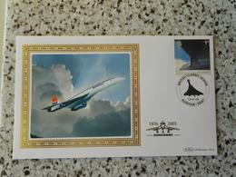 N.  1 FDC Benham Concorde-ediz.limitata 500 Pz - Zonder Classificatie