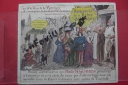 Pub Rotisserie De La Reine Pedauque Menu - Publicités