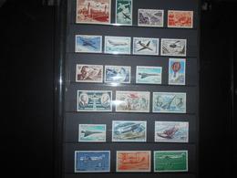 France Collection , 21 Timbres Neuf De Poste Aerienne  Vendu En Desous De La Faciale - France