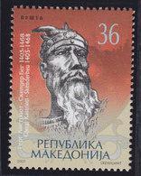 Macedonia 2005 Skanderbeg, MNH (**) Michel 347 - Mazedonien