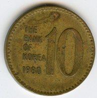 Corée Du Sud South Korea 10 Won 1980 KM 6a - Corée Du Sud