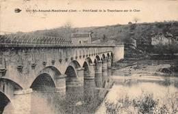Ainay Le Vieil Colombiers Pont Canal De La Tranchasse Péniche Péniches Près Saint Amand Montrond Hirondelle 199 - Autres Communes