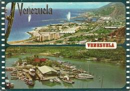 """Caraballeda (Venezuela) Partial Views Of """"La Guaira Port"""" And """"Yacht Club"""" - Venezuela"""