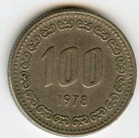 Corée Du Sud South Korea 100 Won 1978 KM 9 - Corée Du Sud