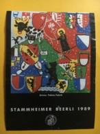 9063 - Stammheimer Beerli 1989 Suisse Artiste Fabian Fabrik - Art