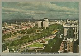 Buenos Aires (Argentina) Leandro N. Alem Avenue, Viale Leandro N. Alem - Argentina