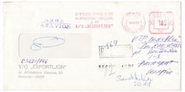 K92 Russia Red Meter Freistempel EMA 1982 EXPORTLJON Soviet Textile‐Export - Textile