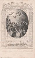 Dp Gerard Joseph Nollée -gerechtshof -bruxelles 1837-rondom Geknipt-tekst Onder Niet Zichtbaar Op Scan - Images Religieuses