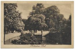 Rotterdam, Park - BMS - Postmark 1919 - Rotterdam