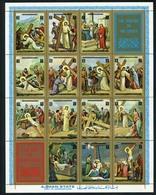 Ajman 2965-2978 Easter, Neuf** Sans Charniere, Mint NH, Minkus 1197-1210 - Ajman
