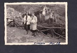 Photo Originale Vintage Snapshot Luxembourg Vianden En Mai 1958 - Lieux