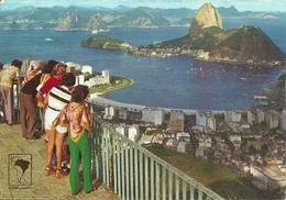 Rio De Janeiro (RJ, Brasile) Enseada Do Botafogo Plano Mirante Dona Marta, Botafogo's Bay From Dona Marta's Belvedere - Rio De Janeiro
