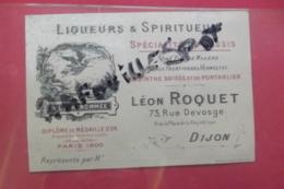 Pub  Liqueurs & Spiritueux L Roquet Dijon - Publicités