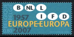 BELGIUM 2007 50th Anniversary Of The Treaty Of Rome: Single Stamp UM/MNH - Neufs