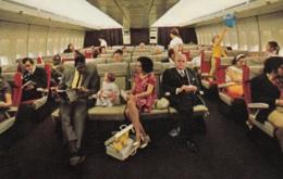 Pan Am,Boeing 747 Interieur, Ungelaufen - 1946-....: Ere Moderne