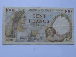 Billet FRANCE 100 Francs Sully 10.4 1941 - MISE A PRIX 1€ ! Bonne Enchères :) - 1871-1952 Anciens Francs Circulés Au XXème