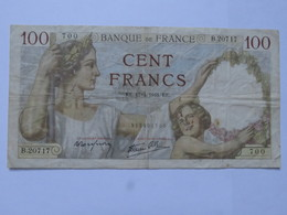 Billet FRANCE 100 Francs Sully 10.4 1941 - MISE A PRIX 1€ ! Bonne Enchères :) - 100 F 1939-1942 ''Sully''
