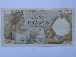 Billet FRANCE 100 Francs Sully 29.6 1939 - MISE A PRIX 1€ ! Bonne Enchères :) - 1871-1952 Circulated During XXth