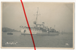 Original Foto - SMS Delphin (1906) - Kaiserliche Marine Und Reichsmarine - Warships