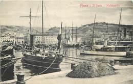 Croatie - Fiume - Harbourg In 1909 - Kroatië