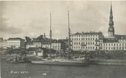 Lettonie / Latvia - Riga Osta - AK Photo - Old Postcard - Lettonie