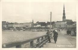 Lettonie / Latvia - Riga - Bridge - Old Postcard - Lettonie