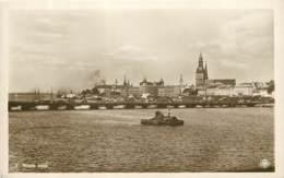 Lettonie / Latvia - Riga - General View - Old Postcard - Latvia