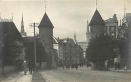 Estonie - Tallinn - Street - Old Postcard 1926 (5) - Estonie