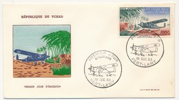 "TCHAD => FDC - Avion ""Broussard"" - 16 Decembre 1963 - Fort-Lamy - Tchad (1960-...)"