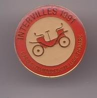 Pin's Intervilles 1991 Carquefou Mauves Ste Luce Thouare Réf 1129 - Villes