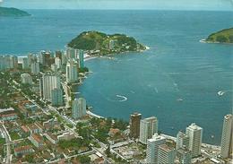 Sao Vicente (Sao Paulo, Brasile) Vista Aerea De Sao Vicente E Ilha Porchar, Air View Of Sao Vicente And Porchar Island - São Paulo