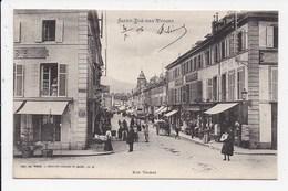 CPA 88 SAINT DIE Rue Thiers - Saint Die