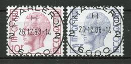 BELGIE: COB 1584/1585 Zeer Mooi Gestempeld. - Belgique