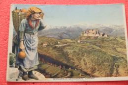 Castelmonte Cividale Udine Il Santuario 1940 - Italy