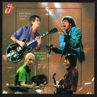 AUSTRIA 2003 Rolling Stones: Miniature Sheet UM/MNH - 1945-.... 2nd Republic