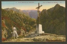 CP-Saint-Martin-du-Canigou - Croix Et Massif Du Canigou - France