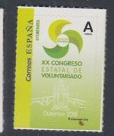 45.- SPAIN 2018 XX State Volunteer Congress - 2011-... Neufs