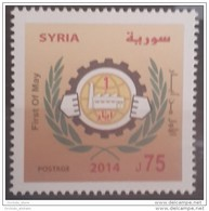 SYRIA 2014 SG 2451 MNH Stamp- 1st Of May - Labour Day Cv 13$ - Syria
