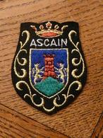 Ecusson à Coudre D'Ascain (64) - Patches