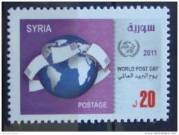 Syria 2011 MNH - World Post Day - UPU - Syria