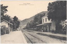 05 Hautes-Alpes Serres La Gare éditeur Record Serres - Andere Gemeenten