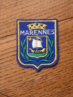 Ecusson à Coudre De Marennes (85) - Patches
