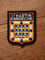 Ecusson à Coudre De Saint-Martin-d'Ardèche (07) - Patches