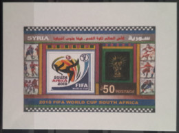 Syria 2010 MNH - FIFA World Cup South Africa - Football Championship - S/S - Syria