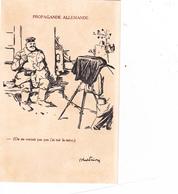 CPA Guerre 14 Propagande Allemande Soldat Allemand Photographe Appareil Photo Patriotique Illustrateur - Patrióticos